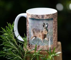 Brown Hare Ceramic Mug