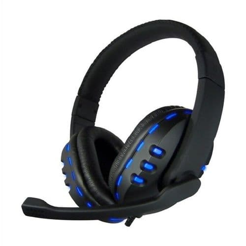 AvP G2 headphone with Mic Blue color