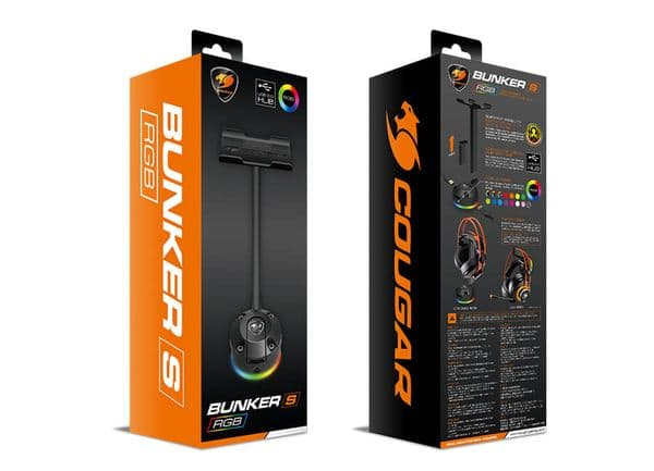 Cougar Bunker S RGB Vaccum Headset Bungee