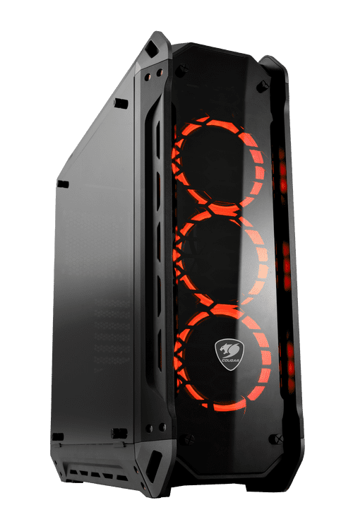 Cougar Panzer-G Mid Tower 4xTempered Glass 3x120mm LED Fans