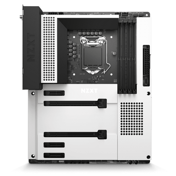 NZXT N7 Intel Z490 Gaming Motherboard Matte White