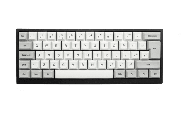 Vortex Tab 60 Bluetooth/USB Silent Black Cherry MX Switch