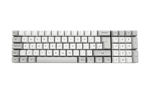 Vortex ViBE Speed Silver Cherry MX Switch