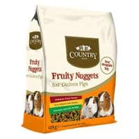 Country Value Guinea Pig Fruity Nuggets 10kg