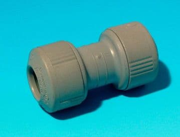 5 x Hepworth Hep2O 10mm straight connectors. Hep20 push fit couplers unions