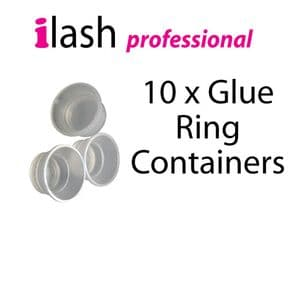 Eyelash Glue Ring Containers