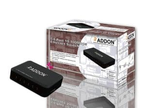 Addon SW05Pv4 5 Ports 10/100Mbps Ethernet Switch