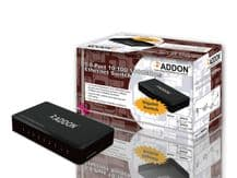 Addon SWG08 8 Ports 10/100/1000Mbps Ethernet Gigabit Switch