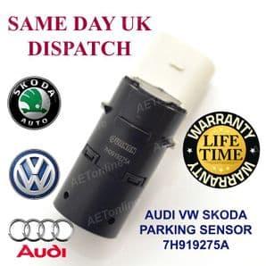 AUDI A2 A3 A4 A6 A8 Q7 Q5 S6 S8 ALLROAD VW SKODA  PARKING SENSOR 7H919275A
