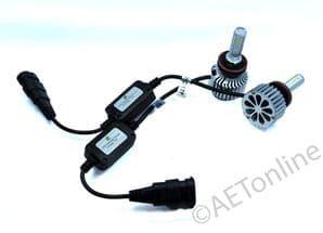 COB LED H11 Car Headlight 80W Light LED DRL Bulbs 6000K Bright Pure White Kit