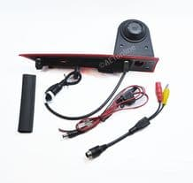 Ford Transit Custom 12-15  Rear View Reversing High Level Brake Light Camera with /without Monitor