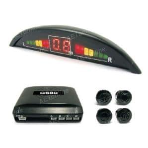 Front Audio Buzzer LED Display Parking Sensor Kit SB373-4L