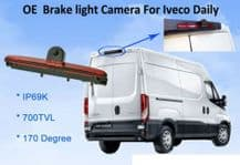IVECO Daily Van 2011-2014  Rear View Reversing High Level Brake Light Camera with /without Monitor