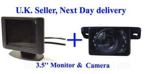 Video Parking Reversing kit Nightview Camera 3.5