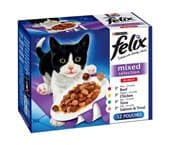Felix Pouch Mixed Selection (4 packs of 12 pouches)
