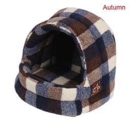 Gorpets Highland Hooded Cat Bed, 3 colours / 3 sizes
