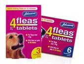 Johnsons 4Fleas Tablets for Dogs