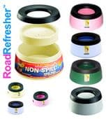 Road Refresher Non Spill Bowl - various colours and sizes