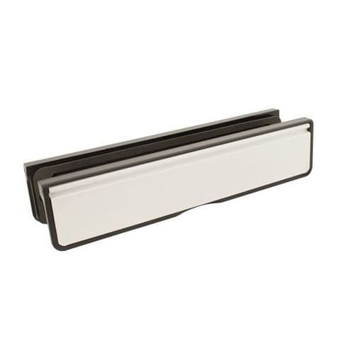 12'' Letterplate for Composite and Timber Doors - 12, 40-80mm Depth