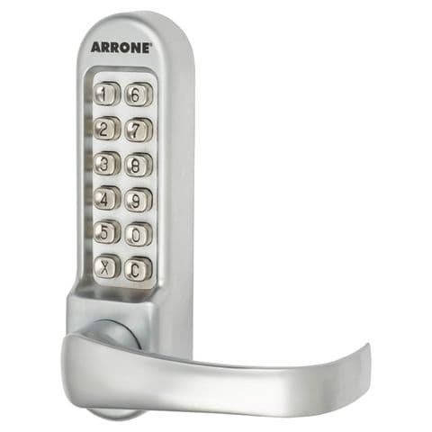 Arrone AR/D-515 Panic Access Codelock - Matt Chrome