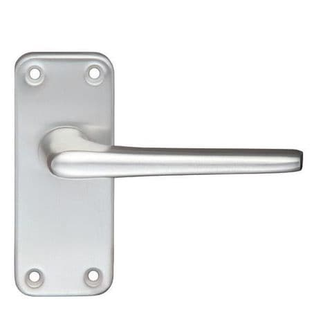 Contract Aluminium Lever Latch On Backplate SAA - ZCA22SA