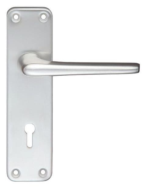 Contract Aluminium Lock Profile Lever On Backplate SAA - ZCA21SA