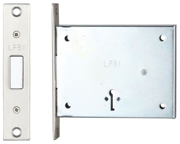 FB1 2 Lever Mortice Deadlock