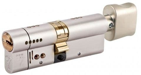 Mul-t-Lock Intergrator XP Thumbturn 3 Star Break Secure Snap Safe Euro Thumbturn Cylinder
