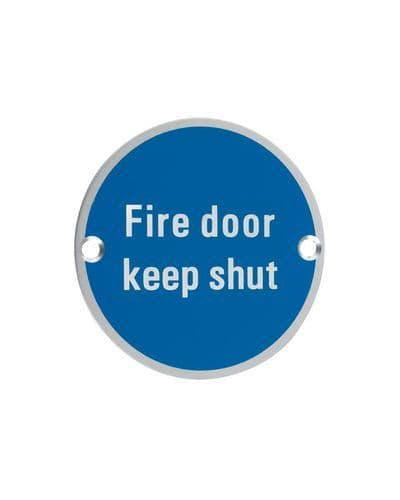 Signage - Fire Door Keep Shut