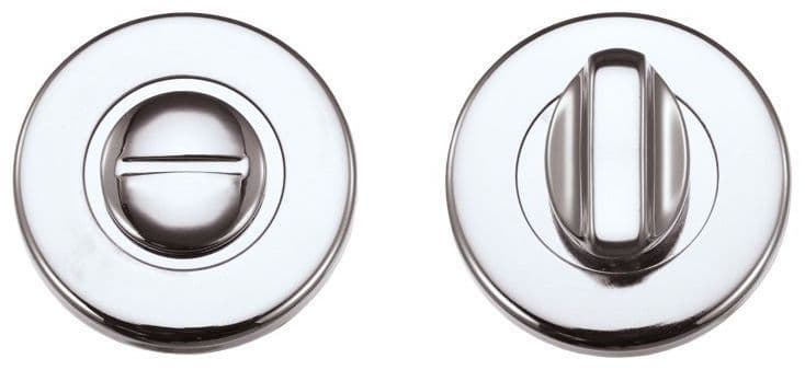 ZCZ004CP - Zoo Hardware Thumbturn & Release for Bathroom - Polished Chrome