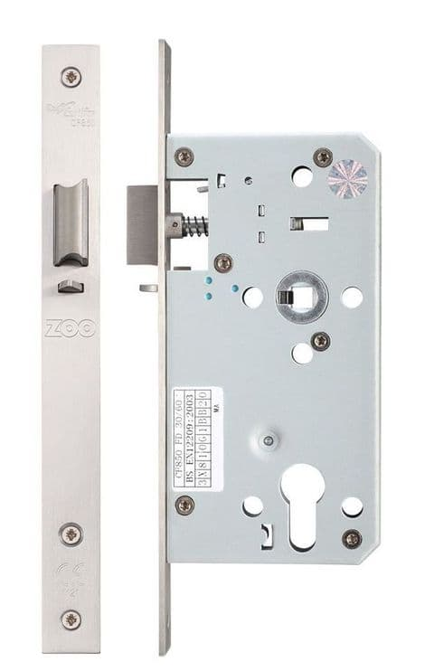 ZDL7255NLSS DIN Nightlatch - 55mm Backset - SS