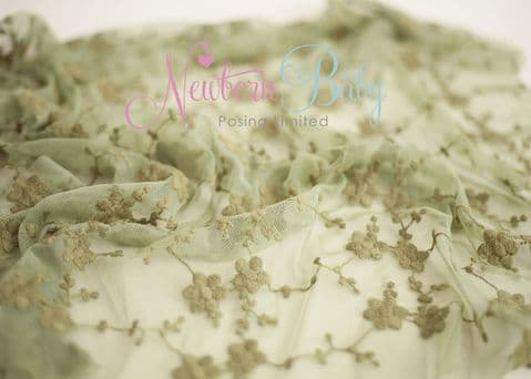 LACE LAYER ~ Olive Green
