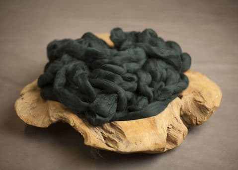 Merino Texture - Dark Green
