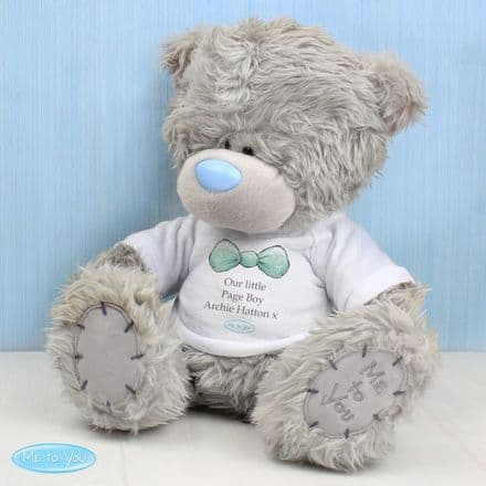 Personalised Me to You Page Boy Bear with T-Shirt