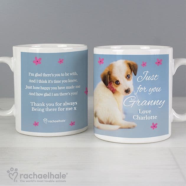 Personalised Rachael Hale Mug - Just for You' Puppy