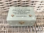 Shabby Personalised chic SPECIAL NIECE Gift Trinket Jewellery Box ANY NAMES