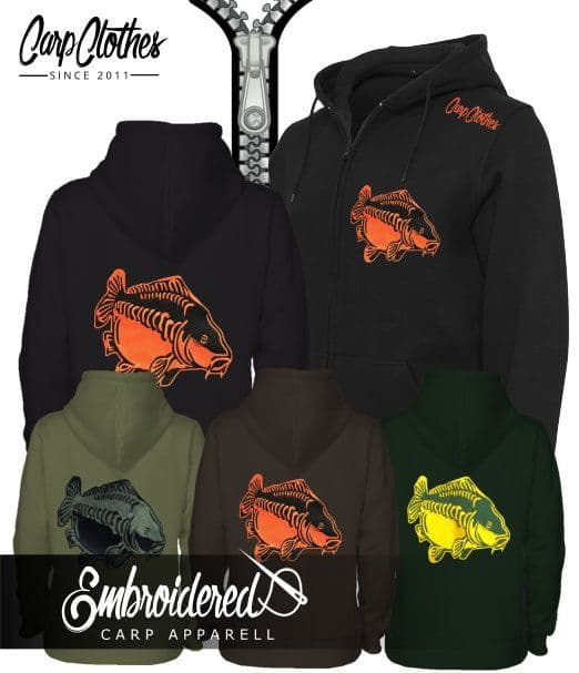 009 EMBROIDERED CARP ZOODIE