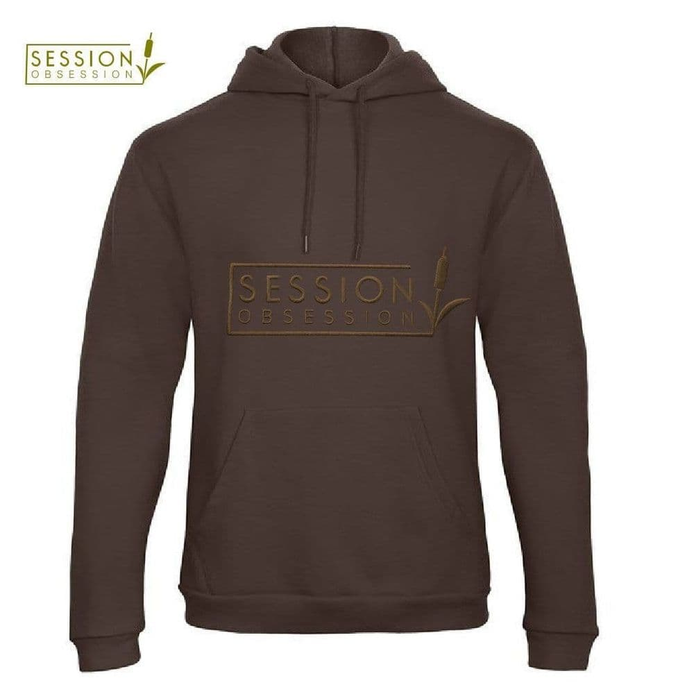 SESSION OBSESSION Men's Embroidered Logo Hoodie