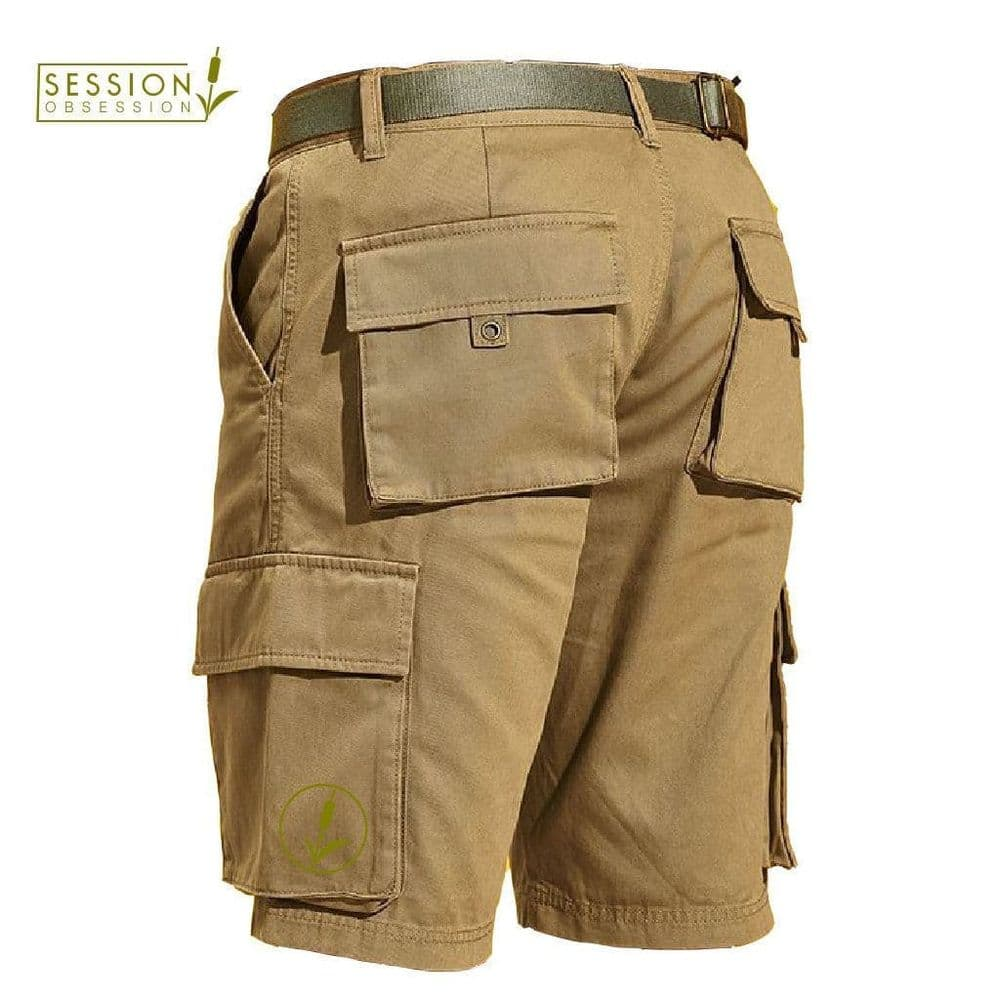 SESSION OBSESSION   Mens Cotton Twill Shorts