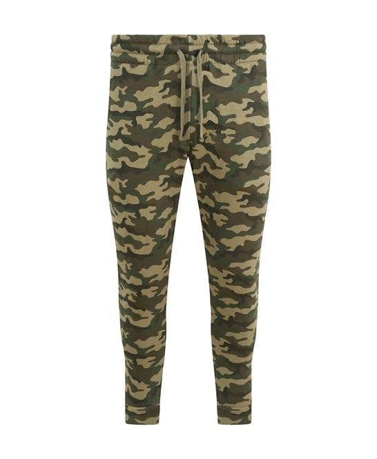 SESSION OBSESSION Tapered Camo Joggers