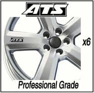ATS CAR WHEEL DECALS
