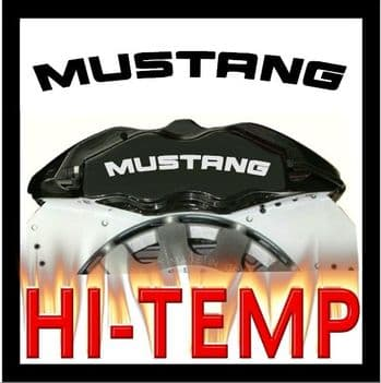 Ford Mustang Brake Caliper Decals / Stickers / Graphics Set