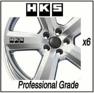 HKS CAR WHEEL DECALS