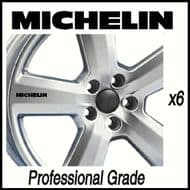 MICHELIN CAR WHEEL DECALS