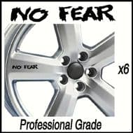 NO FEAR CAR WHEEL DECALS