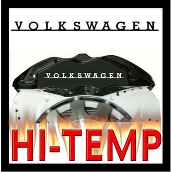 Volkswagen Brake Caliper Decals / Stickers / Graphics Set