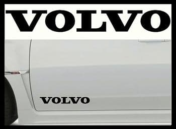 VOLVO CAR BODY DECALS