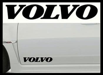 VOLVO (NEW) CAR BODY DECALS