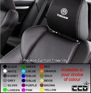 VW Tiguan Car seat Decals