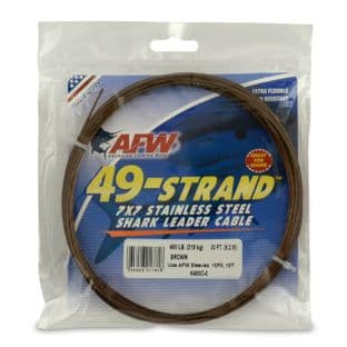 AFW 49 Strand 7x7 SS Shark Wire - 275lb